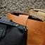 กระเป๋าสะพายแฟชั่น กระเป๋าสะพายข้างผู้หญิง กระเป๋าทรงตัวยู (อะไหล่เงิน) [สีดำ] thumbnail 5