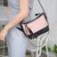กระเป๋าสะพายแฟชั่น กระเป๋าสะพายข้างผู้หญิง Mini Classic [สีชมพู]