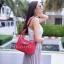 กระเป๋าสะพายแฟชั่น กระเป๋าสะพายข้างผู้หญิง Lindy 26 cm [สีแดง] thumbnail 2