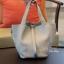 กระเป๋าสะพายแฟชั่น กระเป๋าสะพายข้างผู้หญิง Picotin size L [สีเทา] thumbnail 3