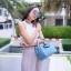 กระเป๋าสะพายแฟชั่น กระเป๋าสะพายข้างผู้หญิง Lindy 26 cm [สีดำ] thumbnail 1