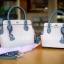 กระเป๋าสะพายแฟชั่น กระเป๋าสะพายข้างผู้หญิง The BOX 24 CM [สีชมพู] thumbnail 4