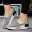 พร้อมส่ง รองเท้าผ้าใบเสริมส้นสีเทา ผ้าทอ พื้นสุขภาพ แฟชั่นเกาหลี [สีเทา ] thumbnail 1