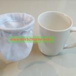 ถุงกรองชา กาแฟโบราณ กาแฟสด ถุงกรองกากสมุนไพร 3x4 นิ้ว สำหรับเปิดร้านกาแฟ ผ้ากรองชงชา