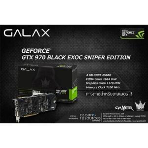 GALAX GTX970 BLACK EXOC Sniper Edition