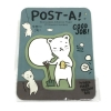 Removeable Adhesive Paper Post A! 1 set