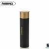 2500mAh Shell Remax Power Bank Bullet Shape -ทรงกระสุนปืน สีดำ ราคา 359 บาท
