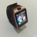 นาฬิกาโทรศัพท์ Smartwatch รุ่น DZ09 Watch Phone สีทอง-น้ำตาล (เมนูไทย) ราคาขาย 1,250 บาท