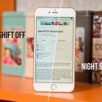 Night Shift โหมด สำหรับถนอมสายตาสำหรับผู้ใช้ iPhone ตอนกลางคืน