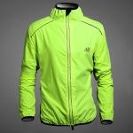เสื้อกันลม-กันฝนแขนยาวสำหรับปั่นจักรยาน TDF/สีเขียวสะท้อนแสง (ฟรี! ค่าจัดส่งแบบ EMS )