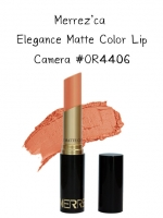 Merrez'Ca Elegance Matte Color Lip #OR4406 Camera