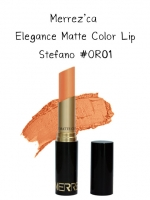 Merrez'Ca Elegance Matte Color Lip #OR01 Stefano