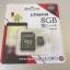 การ์ด Micro SD เมมโมรี่ การ์ด 8GB-Class 10 Kingstons แท้ 100% ลดราคา เหลือ 175 บาท thumbnail 1