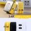 หัวชาร์จ หัวปลั๊ก 2 USB Remax แท้ 3.1A สีดำ ราคา 290 บาท thumbnail 6
