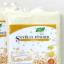 ถั่วเหลืองผง พร้อมชงดื่ม นิวทรีเมท 90กรัม ผลิตภัณฑ์ออร์แกนิค ปลอดสารเคมี ส่วนประกอบที่สำคัญ ถั่วเหลือง น้ำตาลไม่ฟอกสี เพิ่มคุณค่าทางโภชนาการ ตรา Nutri Mate บ้านธัญญาทิพย์