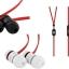 หูฟัง Beats Urbeats สีดำ สายแดง ราคา 690 บาท thumbnail 4