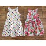1818 H&M Dress มีทั้ง 2 แบบ (ลายจุดและลายดอก) ขนาด 2-4,4-6,6-8,8-10 ปี