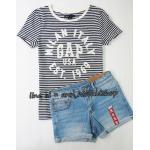 SP027 Gap Kids T-Shirt + Zara KIds short jeans sz 8-10 ปี