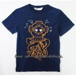 1781 H&M T-Shirt -Navy Blue ขนาด 4-6,6-8 ปี