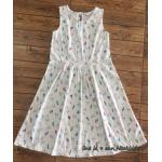 1867 H&M Dress - Off White ขนาด 4-6,6-8,8-10 ปี