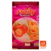 OK FRUITY บิสกิตรสสตอเบอรี่ (OK Fruity Biscuit Strawberry Flavor)