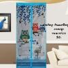ม่านกันยุงการ์ตูนลายนกฮูก สีฟ้า ขนาด90*210