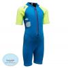 ชุดว่ายน้ำเด็กควบคุมอุณหภูมิ ป้องกันความหนาว / ป้องกันรังสี UV ผลิตจากผ้า Neoprene หนา 2 mm มี 2 สี---> สีชมพู/สีฟ้า
