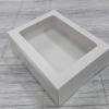 กล่องขนม กล่องเค้กโบราณ กว้าง25xยาว19xสูง6 ซม.กล่องทาร์ตไข่ สีขาว (20 ใบต่อแพ็ค)