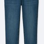 2023 Uniqlo Ultra Stretch Denim Jeans - Blue ขนาด 140