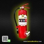 """ถังดับเพลิง """"ผงเคมีแห้ง"""" ถังสีแดง เกรด A (FireRate 4A5B 6A20B 10A20B 10A40B)"""