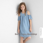 1894 Gap Dress - Light Blue ขนาด 10 ปี