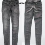 1952 Blue Ridge SuperSkinny Fit Jeans - Dark Gery ขนาด 140,152, 158 (ส่งฟรี ลทบ.)