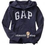 1918 Gap Kids Arch Logo Hoodies - Navy Blue ขนาด M(8-9) ปี ( ส่งฟรี ลทบ.)