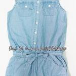 1974 WallFlower Jeans Jumpsuit ขนาด 10-12 ปี (ส่งฟรี ลทบ.)