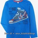 1982 ESPRIT T-Shirt - Blue ขนาด 12-13 ปี (ส่งฟรี ลทบ.)