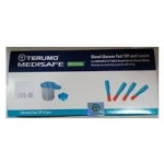 ชุดกระเปาะตรวจและเข็มเจาะ Terumo Test Tip & Lancet fit & fit smile