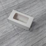 กล่องเครื่องสำอางค์ กล่องสบู่ กล่องสินค้าอาหารเสริม กล่องอเนกประสงค์ สีขาว 6.5x5.0x12.5 ซม. ราคา 130 บาท/20 ใบ