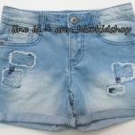 1864 Crazy Short Jeans - Blue ขนาด 7,8 ปี