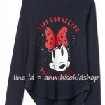 1891 Gap Kids Disney Long Sleeve - Navy ขนาด 12 ปี
