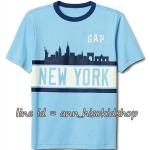 1887 Gap Global City Short Sleeve Tee - Oasis Blue ขนาด 6-7 ปี