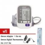 ุเครื่องวัดความดันโลหิตแบบดิจิตอล Omron HEM 7130 แถมฟรี! Adapter แท้ รับประกัน 5 ปี