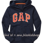 1914 Gap Kids Arch logo Hoodie - Navy Blue ขนาด 8-9 ปี (ส่งฟรี ลทบ.)
