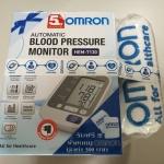 เครื่องวัดความดันโลหิตแบบดิจิตอล Omron HEM 7130 พร้อม Adaptor แท้ ของ omron