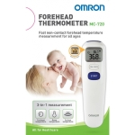 เครื่องวัดอุณหภูมิทางหน้าผาก Omron MC-720 (สามารถวัดอุณหภูมิทางร่างกาย, วัตถุ และอุณหภูมิห้อง)