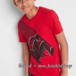 2019 GAP KIDS T-Shirt - Red ขนาด 8,10 ปี