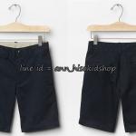 1998 GapShield Flat Front Shorts - Navy Blue ขนาด 14(Husky) , 16(Husky) ปี