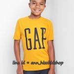 1971 Gap Kids Arch Logo T-Shirt - Yellow ขนาด 14-16,18 ปี (ส่งฟรี ลทบ.)