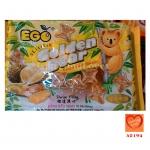 EGO Golden Bear บิสกิตสอดไส้ครีมทุเรียน (EGO Golden Bear Durian Filled Biscuits)