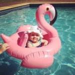 ห่วงยางเล่นน้ำเด็ก ฟลามิงโก้ (Flamingo) สีชมพู