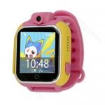 นาฬิกาติดตามเด็ก ป้องกันเด็กหาย มีกล้อง รองรับ 3G GPS Application บนมือถือใช้งานง่าย มีคู่มือภาษาไทย (สีชมพู)